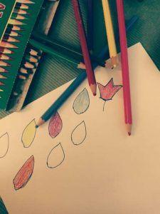 colorear hojas