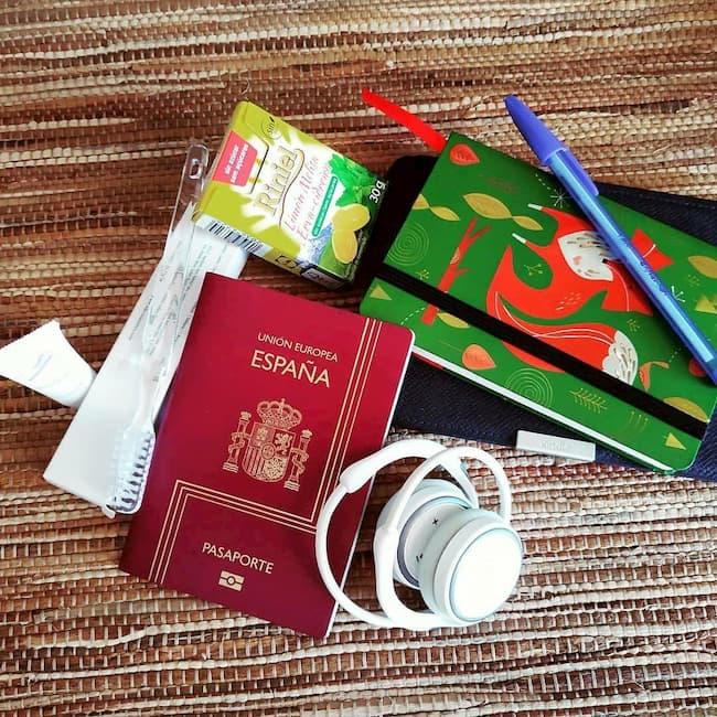 Objetos relacionados con el viaje